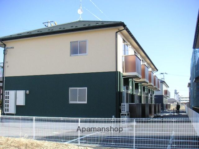 宮城県大崎市の築10年 2階建の賃貸アパート