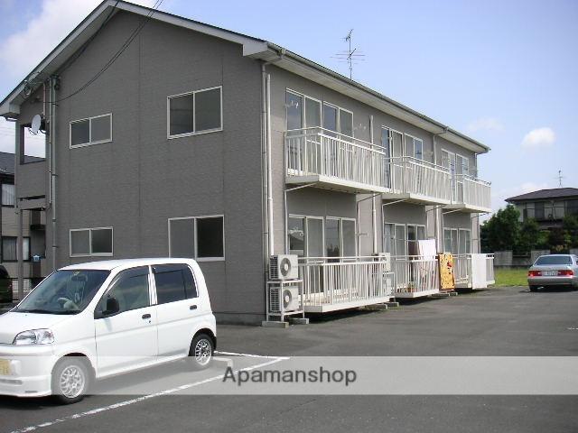 宮城県大崎市の築22年 2階建の賃貸アパート