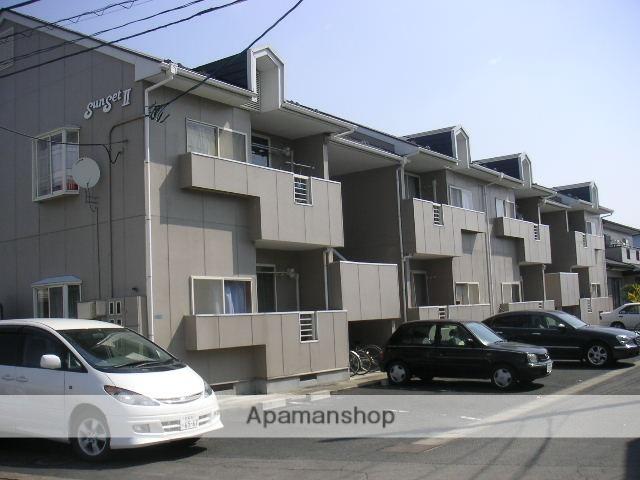 宮城県大崎市、古川駅徒歩5分の築25年 2階建の賃貸アパート