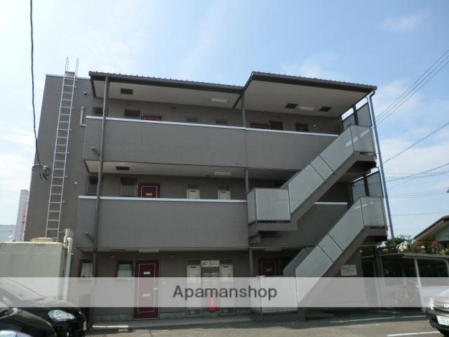 宮城県大崎市、古川駅徒歩13分の築22年 3階建の賃貸マンション