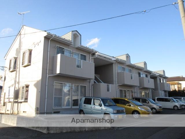 宮城県大崎市、古川駅徒歩12分の築26年 2階建の賃貸アパート