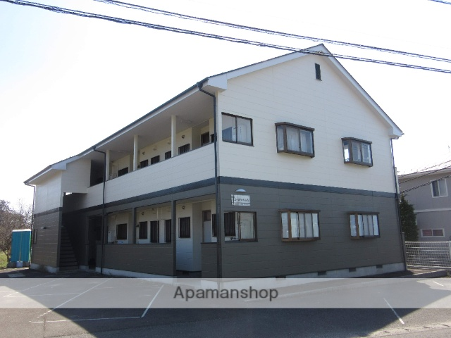 宮城県大崎市の築24年 2階建の賃貸アパート