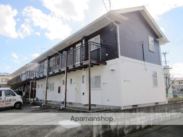 宮城県大崎市、塚目駅徒歩10分の築25年 2階建の賃貸アパート