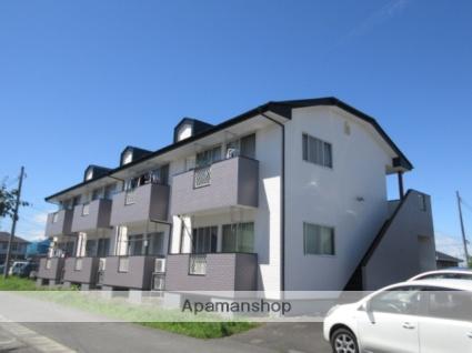 宮城県大崎市、塚目駅徒歩10分の築21年 2階建の賃貸アパート