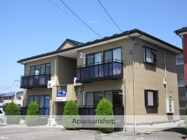 宮城県大崎市、塚目駅徒歩15分の築21年 2階建の賃貸アパート