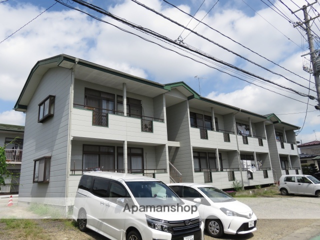 宮城県大崎市の築23年 2階建の賃貸アパート