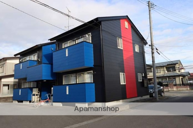 宮城県大崎市、古川駅徒歩25分の築19年 2階建の賃貸アパート