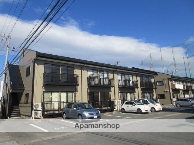 宮城県大崎市の築18年 2階建の賃貸アパート