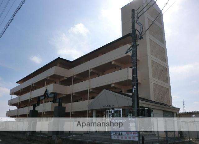 宮城県大崎市、古川駅徒歩7分の築25年 4階建の賃貸マンション