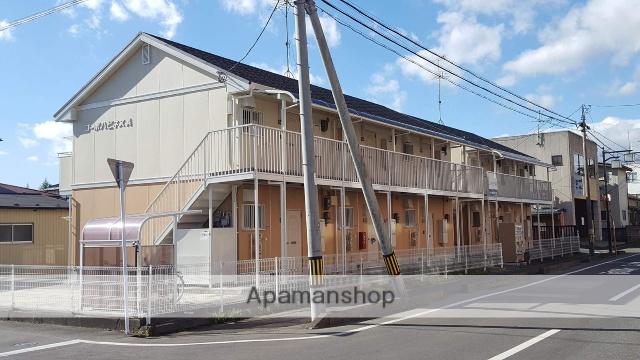 宮城県遠田郡美里町、小牛田駅徒歩6分の築25年 2階建の賃貸アパート
