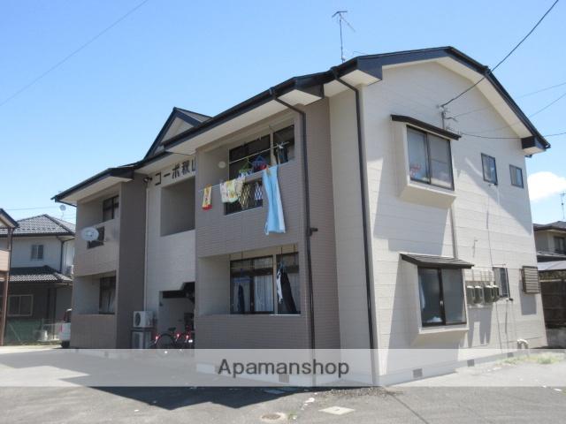 宮城県大崎市、古川駅徒歩17分の築25年 2階建の賃貸アパート