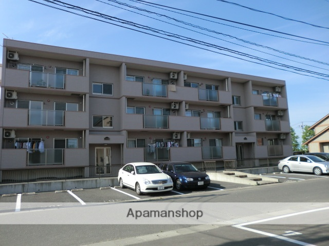 宮城県大崎市、塚目駅徒歩25分の築9年 3階建の賃貸マンション