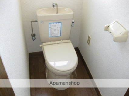 コーポラスおさなぎ[3K/51.34m2]のトイレ