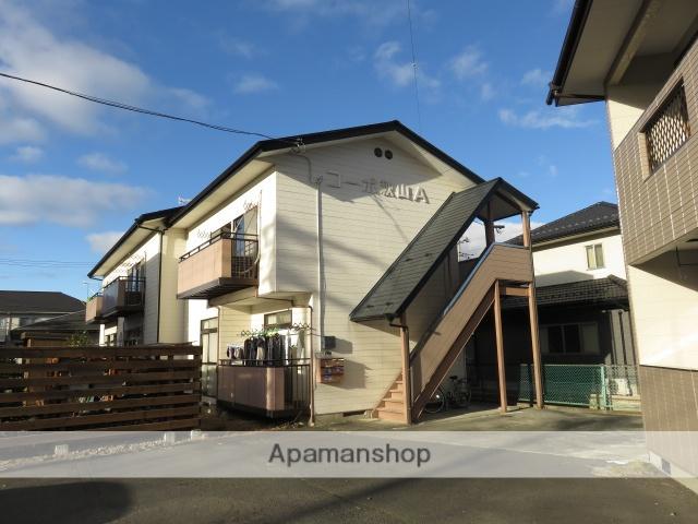 宮城県大崎市、古川駅徒歩17分の築29年 2階建の賃貸アパート