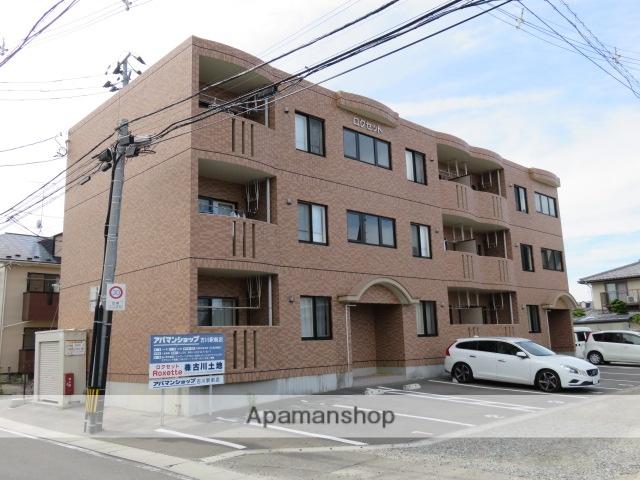 宮城県大崎市、古川駅徒歩18分の築12年 3階建の賃貸マンション