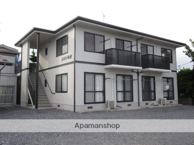 宮城県遠田郡美里町の築21年 2階建の賃貸アパート