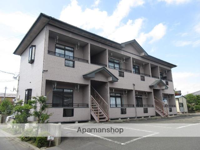 宮城県大崎市、古川駅徒歩23分の築18年 2階建の賃貸アパート
