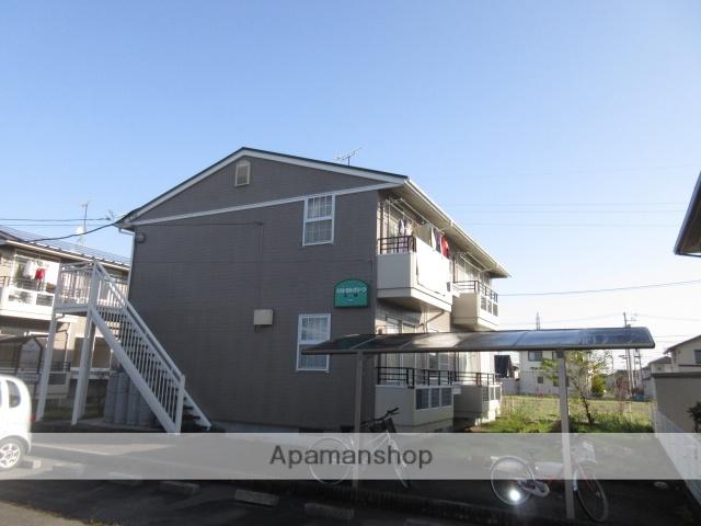 宮城県大崎市、塚目駅徒歩5分の築21年 2階建の賃貸アパート