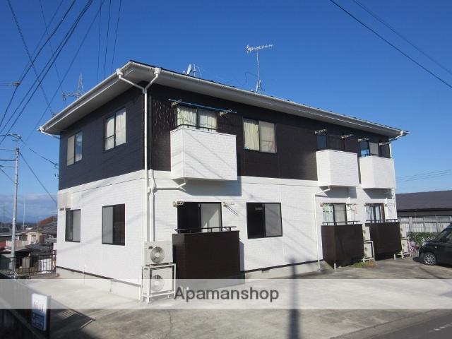 宮城県大崎市の築19年 2階建の賃貸アパート