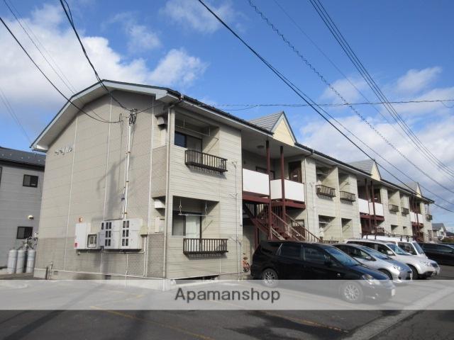 宮城県大崎市の築27年 2階建の賃貸アパート