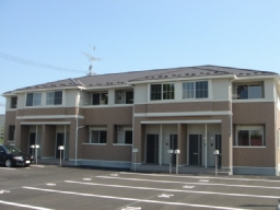 宮城県大崎市の築8年 2階建の賃貸アパート
