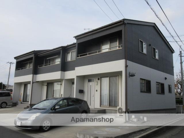 宮城県遠田郡美里町、北浦駅徒歩10分の築5年 2階建の賃貸アパート
