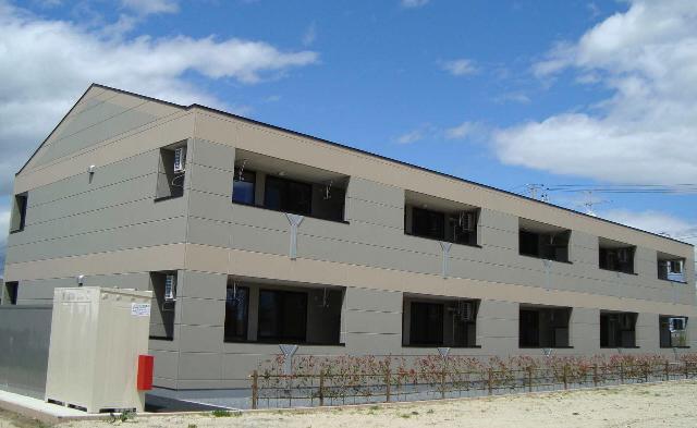 宮城県大崎市の築6年 2階建の賃貸アパート