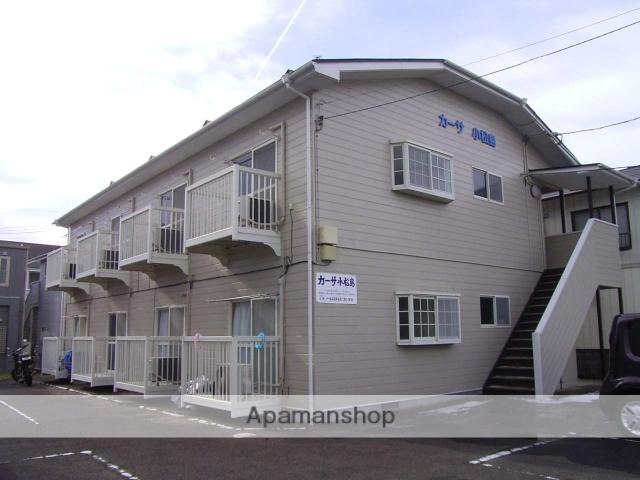宮城県仙台市青葉区、東照宮駅徒歩3分の築25年 2階建の賃貸アパート