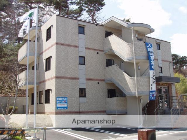 宮城県仙台市宮城野区の築11年 3階建の賃貸マンション