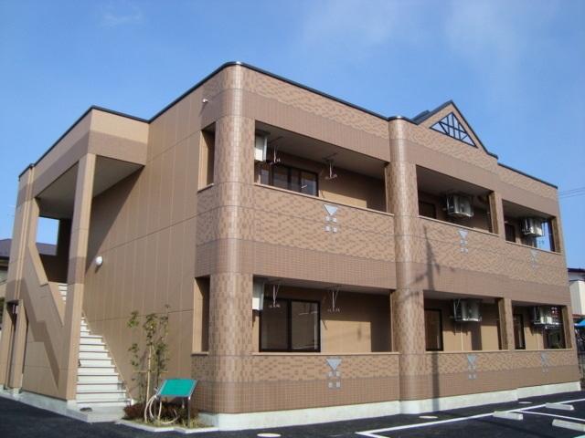 宮城県仙台市若林区、薬師堂駅徒歩29分の築7年 2階建の賃貸アパート