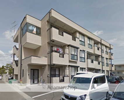 宮城県仙台市若林区、六丁の目駅徒歩27分の築23年 3階建の賃貸アパート