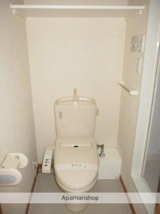 フォレストン[1K/22.35m2]のトイレ
