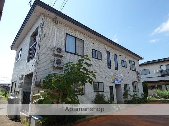 秋田県横手市、横手駅徒歩10分の築19年 2階建の賃貸アパート
