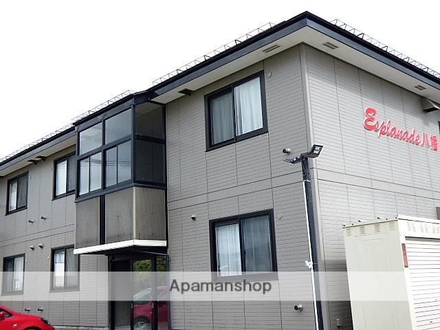 秋田県横手市、横手駅羽後交通バス10分石町下車後徒歩3分の築16年 2階建の賃貸アパート