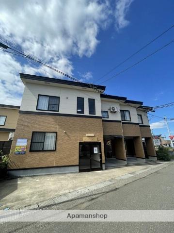 秋田県大仙市、大曲駅徒歩26分の築8年 2階建の賃貸アパート