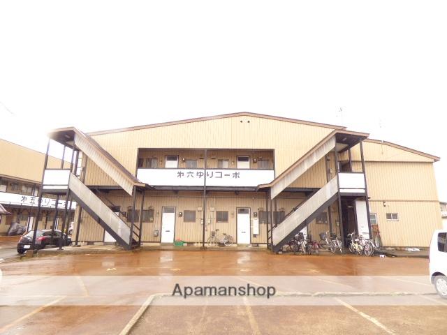 秋田県湯沢市、湯沢駅徒歩5分の築18年 2階建の賃貸アパート