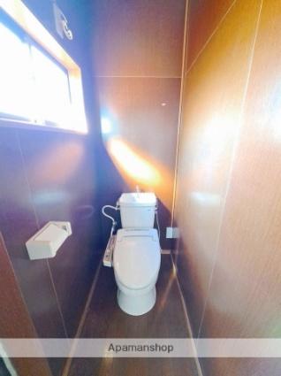秋田県大仙市大曲丸子町[2K/42.14m2]のトイレ