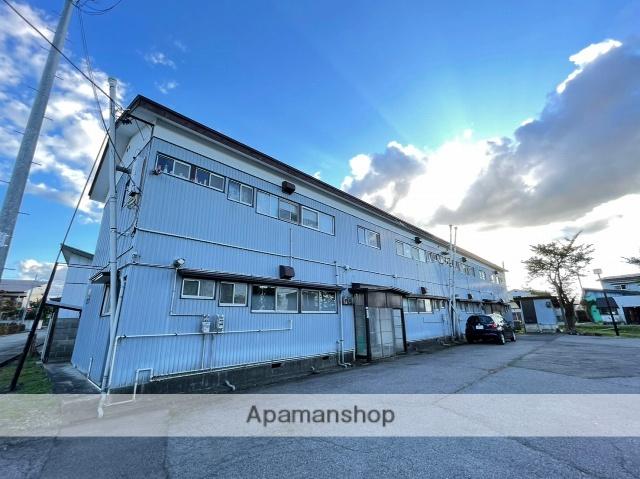 秋田県横手市、横手駅徒歩30分の築49年 2階建の賃貸アパート