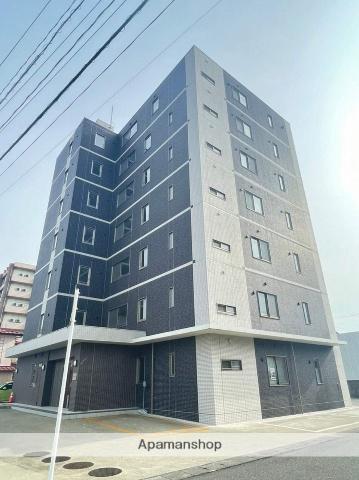 秋田県横手市、横手駅徒歩6分の新築 7階建の賃貸マンション