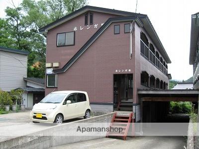 秋田県仙北市、角館駅徒歩5分の築18年 2階建の賃貸アパート