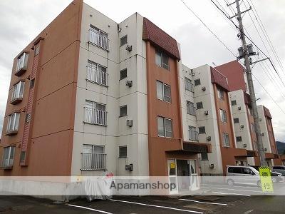 秋田県大仙市、大曲駅徒歩3分の築33年 4階建の賃貸マンション