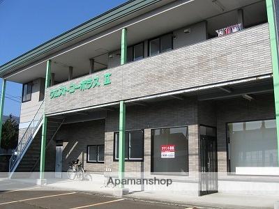 秋田県大仙市、大曲駅羽後交通バス10分元木下車後徒歩1分の築18年 2階建の賃貸アパート