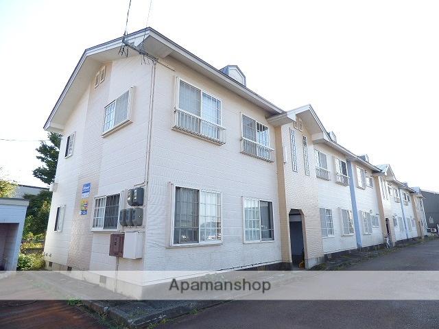秋田県大仙市、大曲駅徒歩5分の築25年 2階建の賃貸アパート
