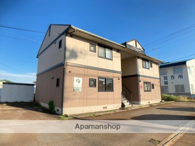 秋田県大仙市、大曲駅徒歩17分の築13年 2階建の賃貸アパート