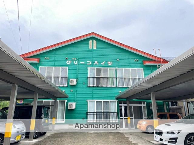秋田県仙北市、角館駅徒歩10分の築19年 2階建の賃貸アパート