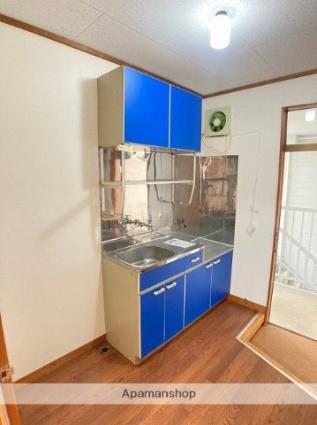 ハイムサンライズ[1K/19.83m2]のキッチン