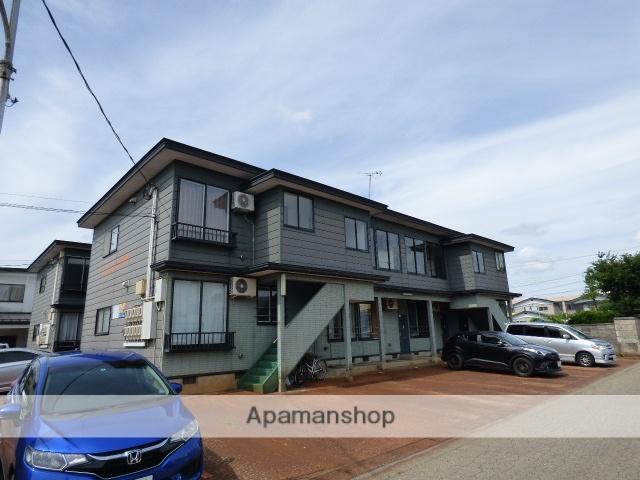 秋田県大仙市、大曲駅徒歩13分の築21年 2階建の賃貸アパート