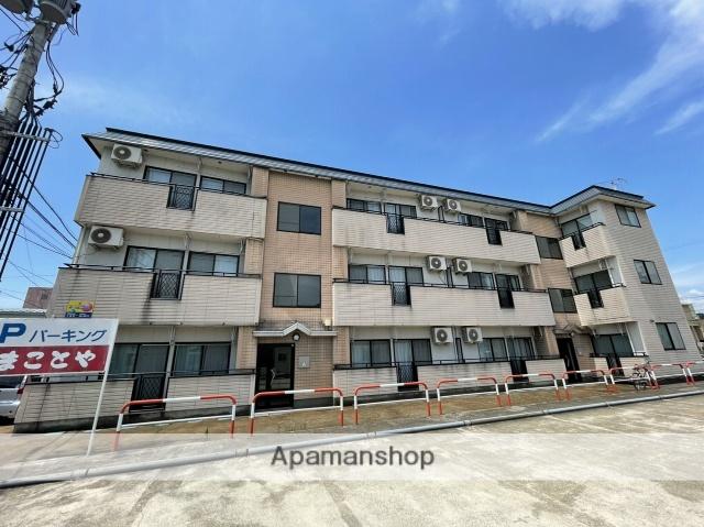 秋田県大仙市、大曲駅徒歩5分の築22年 3階建の賃貸マンション