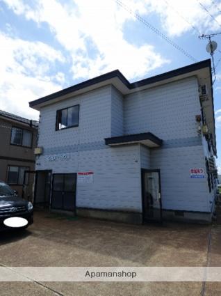 秋田県大仙市の築17年 2階建の賃貸アパート