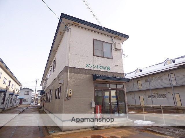 秋田県大仙市、大曲駅徒歩35分の築14年 2階建の賃貸アパート